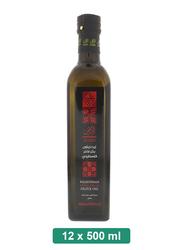 Al Ard Palestinian Extra Virgin Olive Oil, 12 Bottles x 500ml