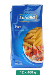 Lubella Penne Rigate Pasta, 12 Packets x 400g
