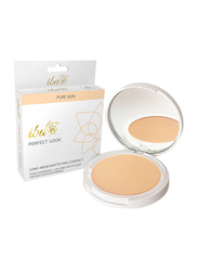 Iba Perfect Look Long-Wear Mattifying Compact Powder, 9gm, 02 Medium Shell, Beige
