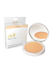 Iba Perfect Look Long-Wear Mattifying Compact Powder, 9gm, 03 Natural Coral, Beige