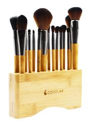 Coco Jar Bamboo Makeup Brushes Set