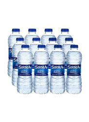 Sirma Natural Mineral Water, 12 Pet Bottles x 500ml