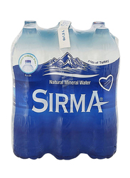 Sirma Natural Mineral Water, 6 Pet Bottles x 1.5 Liter