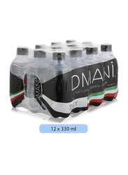 Dmani Natural Mineral Water, 12 Pet Bottles x 330ml