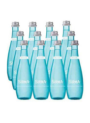 Sirma Sparkling Natural Mineral Water, 12 Glass Bottles x 330ml