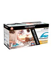 Touchmate 360° Multi-Direction Dry Iron, 1200W, TM-DTI201, Blue/White