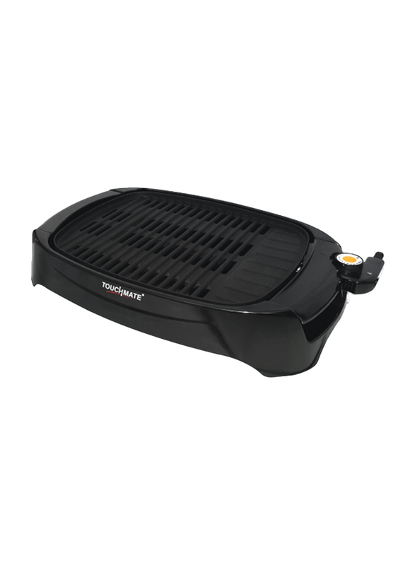 Touchmate Electric Indoor Barbeque Grill, 1500W, TM-BBQ200G, Black