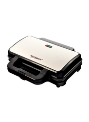 Touchmate 2-Slice Sandwich Maker, 800W, TM-SDM200S, Silver/Black