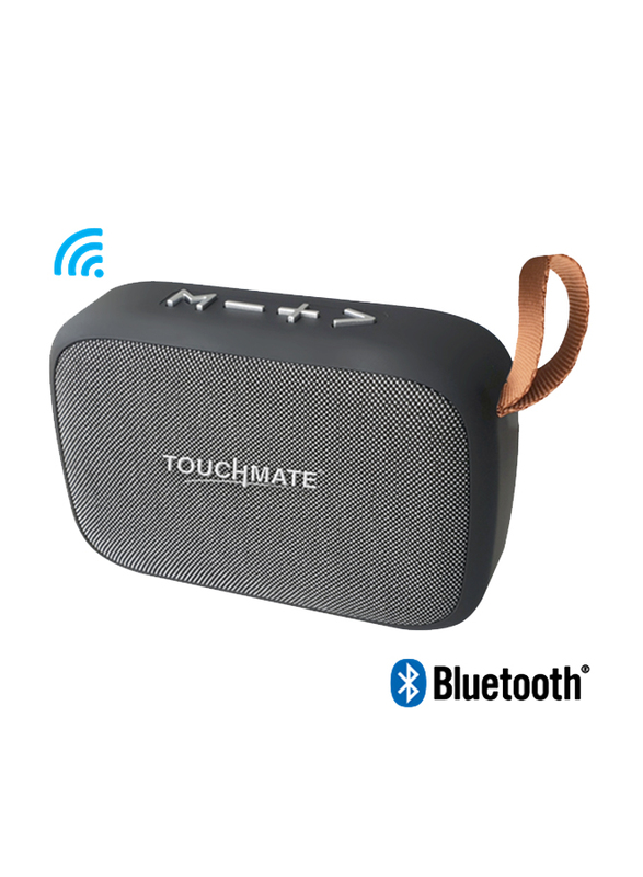 Touchmate TM-BTS400 Wireless Portable Bluetooth Speaker, Black