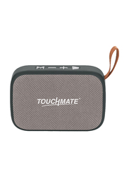 Touchmate TM-BTS400 Wireless Portable Bluetooth Speaker, Grey