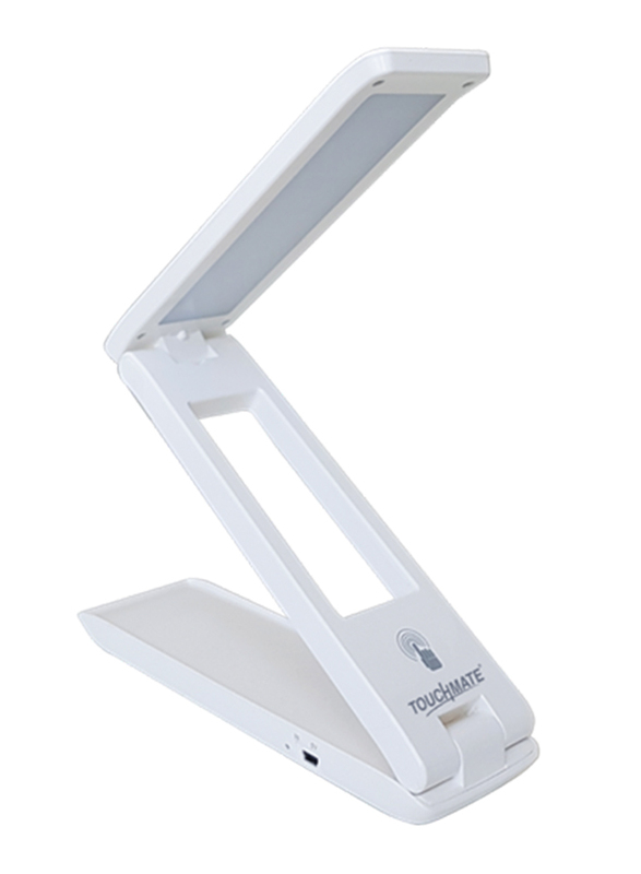 Touchmate Touch Sensor LED Table Lamp with Dimmer Function, TM-TL200TS, White