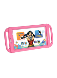 Touchmate Wonder Woman 16GB Pink 7-inch Kids Tablet, Quad Core 1.3GHz, 1GB RAM, 3G, with Silicone Cover Bundle and Headphones