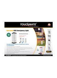 Touchmate Surround USB Emergency Light, TM-EML204, Blue