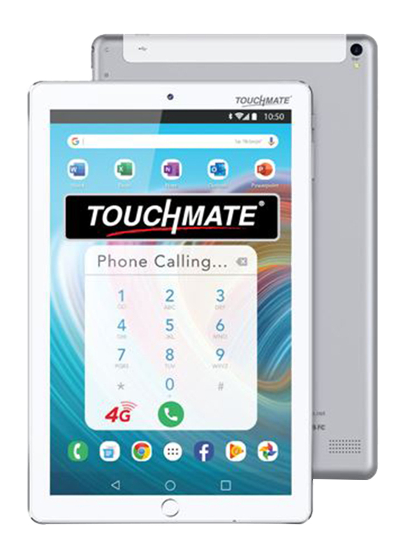 Touchmate 4G Velocity Pro 32GB White 10.1-inch Tablet, Quad Core 1.5GHz, 3GB RAM, 4G