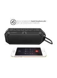 Touchmate TM-BTS900W Waterproof Wireless Portable Bluetooth Speaker, Black