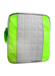 Touchmate Traveller Shoulder Bag, Grey/Green
