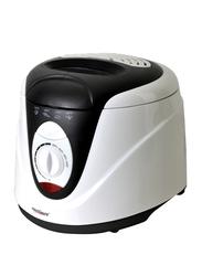 Touchmate 2L Deep Fryer, 1200W, TM-DF200BW, Black/White