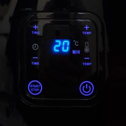 Touchmate 2L Digital Air Fryer, 1350W, TM-AF101, Black