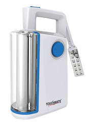 Touchmate Heavy Duty LED USB Emergency Light, TM-EML204, Blue/White