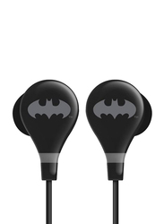 Touchmate Batman 3.5 mm Jack In-Ear Ultra Bass Earphones with Mic, Black