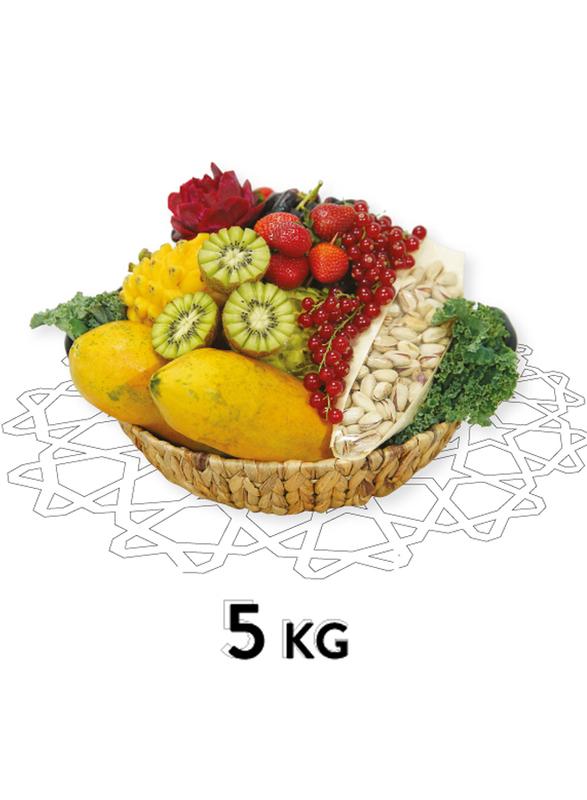 Fresh Fruit Basket, 16 Items, 5 KG