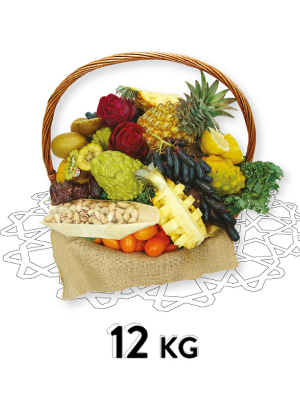 Fresh Fruit Basket, 25 Items, 12 KG