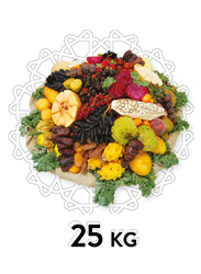 Fresh Fruit Basket, 34 Items, 25 KG