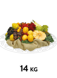 Fresh Fruit Basket, 25 Items, 14 KG
