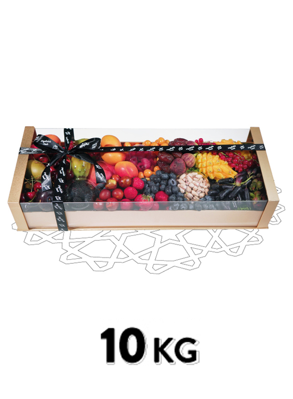Fresh Fruit Acetate Basket, 21 Items, 10 KG