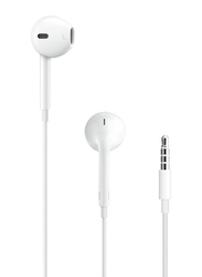 Apple EarPods 3.5mm Jack In-Ear Headphones with Mic, White