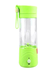Cool Baby 500ml Rechargeable Mini Blender, Clear/Green