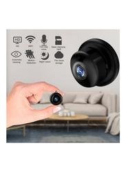 1080P Wireless Mini Wi-Fi IR Night Vision Video Recorder Baby Monitor IP Camera, Black