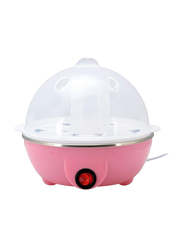 Electric 7 Eggs Boiler with Cooker, 350W, YS-205, Pink