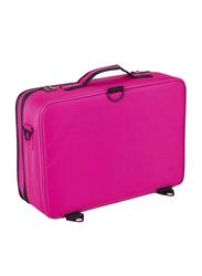 TGGT Makeup Brushes and Cosmetics Travel Organizers Bag, Pink