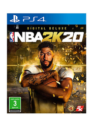 NBA 2K20 Digital Deluxe for PlayStation 4 (PS4) by 2K