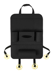 Multi-Pocket Car Backseat Organizer, Dark Grey