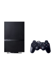 Sony PlayStation 2 Slim Console, 40GB, with 2 Controller, Black