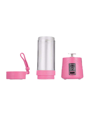 Generic Portable and Rechargeable Battery Juicer Blender, 200W, ZK1623403, Pink