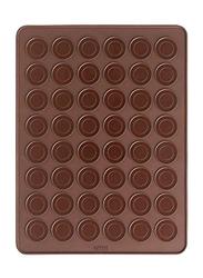 Lekue Macaroon Baking Mat, 40.1x29.9x37 cm, Brown