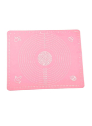 Pastry Rolling Square Baking Mat, 40x50 cm, Pink