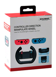 Dobe Direction Controlling Wheel Joypad for Nintendo Switch Joy-Con Controllers, 2-Pieces, Black