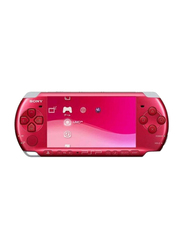 Sony PlayStation Portable 3006 Console, Radiant Red