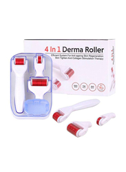 4-in-1 Derma Roller Microneedling Kit for Face, 1 Piece