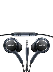 AKG 3.5mm Jack In-Ear Earphones with Mic, Black