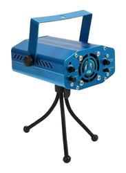 Mini Laser Projector Stage Light, Blue