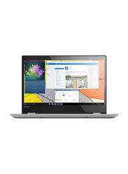 Lenovo Yoga 520, 14.0 inch FHD Touch Flip Display, Intel Core i7-8550U 8th Gen 1.8GHz, 1TB HDD, 8GB RAM, 2GB NVIDIA Graphics, EN-AR Keyboard with Bluetooth/Fingerprint, Win 10, 81C8009JAX, Grey