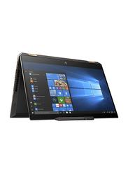 HP Spectre x360 - 15-df0006ne, 15.6 inch UHD TouchFlip, IntelCore i7 8750 H-8thGen 2.2GHz, 512GB SSD, 16GB RAM, 4GB NVIDIA GTX1050TI Graphics, EN-AR KB Bluetooth/Fingerprint, Win 10, 6RV51EA, Silver