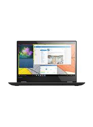 Lenovo Yoga 520, 14.0 inch FHD Touch Flip Display, Intel Core i5-8250U 8th Gen 1.6GHz, 1TB HDD, 4GB RAM, 2GB NVIDIA Graphics, EN-AR Keyboard with Bluetooth/Fingerprint, Win 10, 81C800AUAX, Black