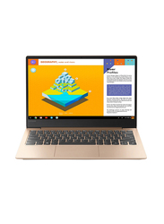 Lenovo S530, 13.3 inch FHD Display, Intel Core i7-8565U 8th Gen 1.8GHz, 512GB SSD, 16GB RAM, 2GB NVIDIA Graphics, EN-AR Keyboard with Bluetooth/Fingerprint, Win 10, 81J7003NAX, Gold