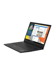 Lenovo Edge E590, 15.6 inch HD Display, Intel Core i7-8565U 8th Gen 1.8GHz, 1TB HDD, 8GB RAM, 2GB Radeon Graphics, EN-AR Keyboard with Bluetooth/Fingerprint, DOS, 20NB0002AD, Black